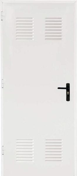 Techniczne drzwi stalowe ENSAMBLADA 790 x 1490