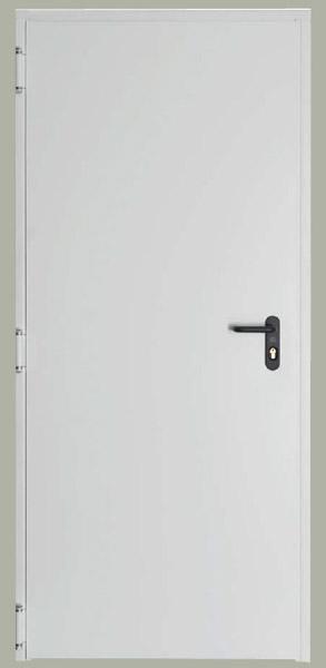 Drzwi przeciwpożarowe TURIA 800x2100 – ppoż o odporności ogniowej EI60, ze stali