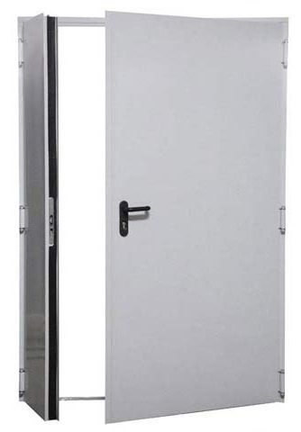 Drzwi przeciwpożarowe dwuskrzydłowe TURIA 1400x2050 – ppoż EI30